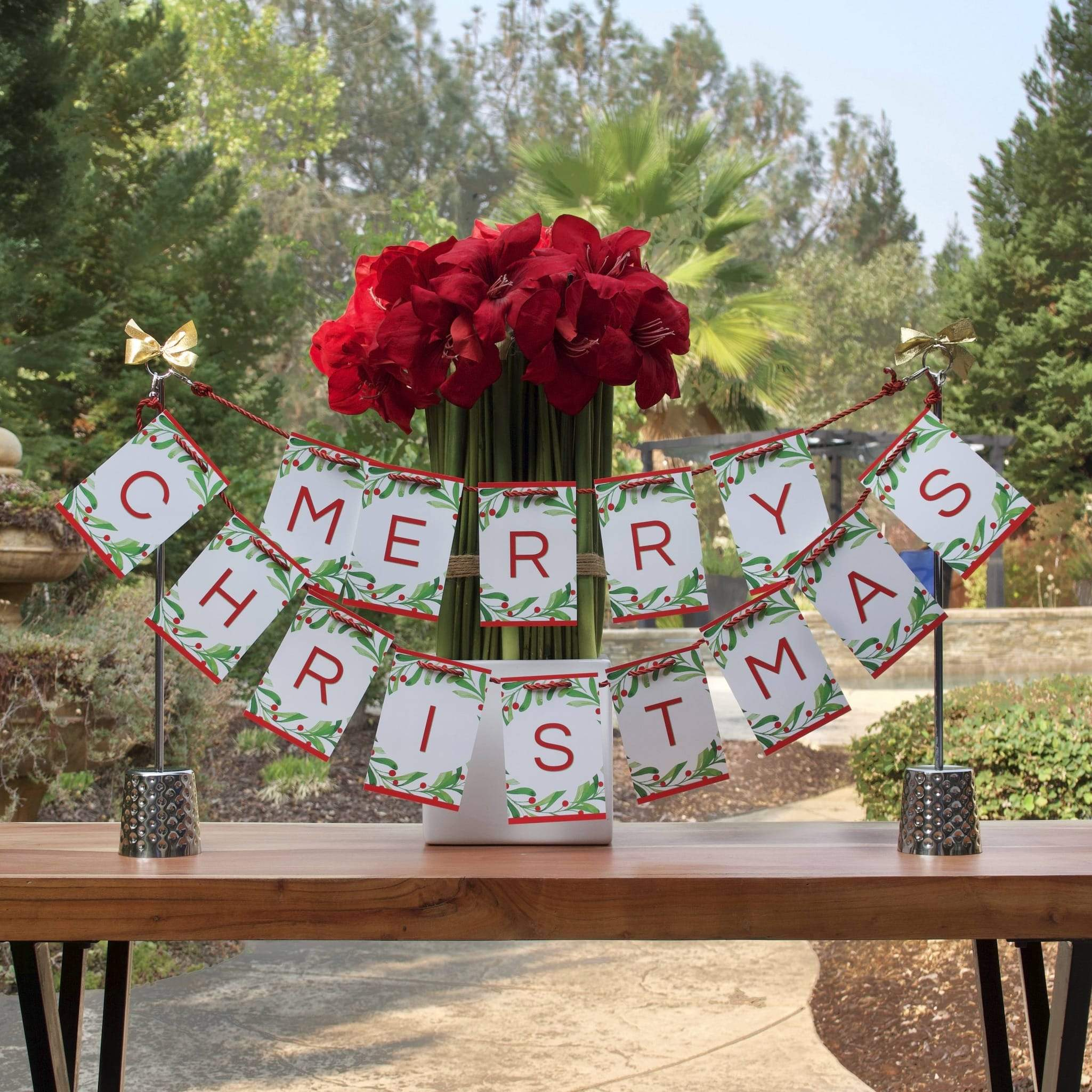 Centerpiece for Christmas holiday decor