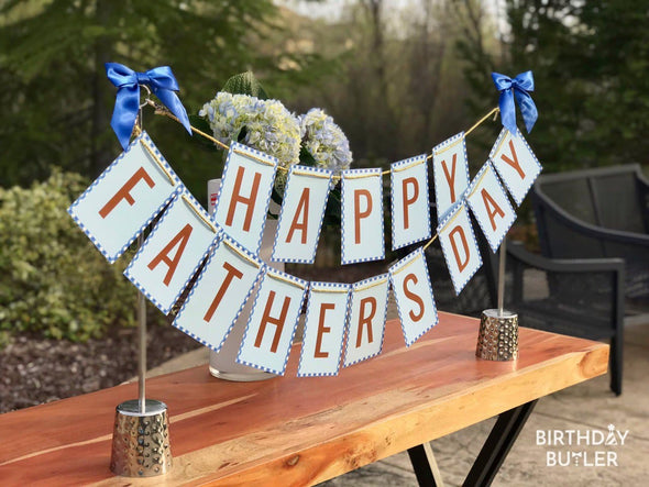Perfect decoration for dad party