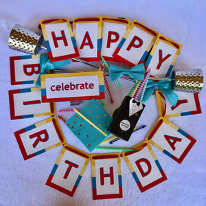 Contemporary birthday party decorations