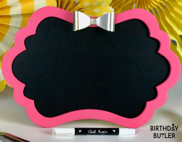 Pretty In Pink Personalized Birthday Decorations for Girls Weekend Away