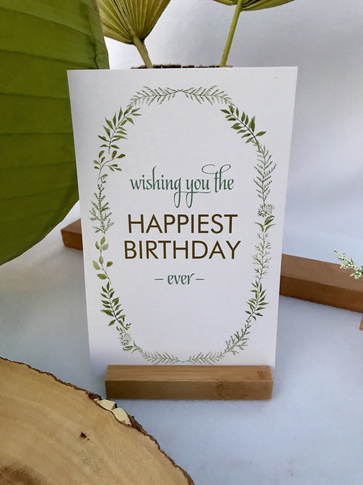 The Great Outdoors All-Inclusive Eco-friendly Organic Birthday Kit from Birthday Butler