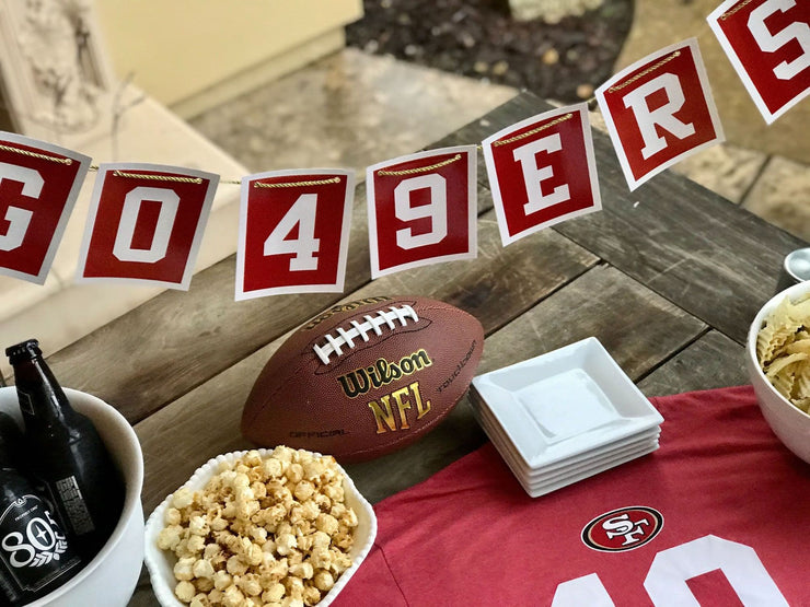 San Francisco 49ers Centerpiece