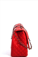 Jumbo Quilted Bag (Red)