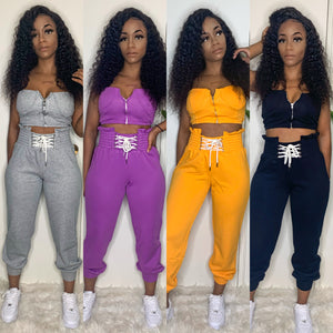 Uptown Vibes Pants Set