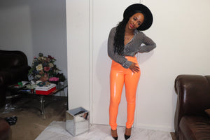 Liquid Leggings (Orange)