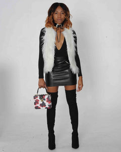 Winter Wonderland Fur Vest