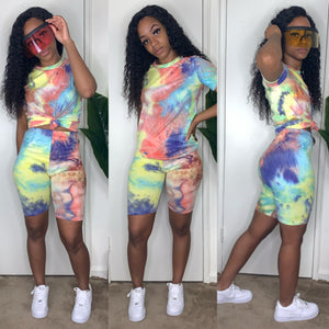 Live Out Loud Tie Dye Set
