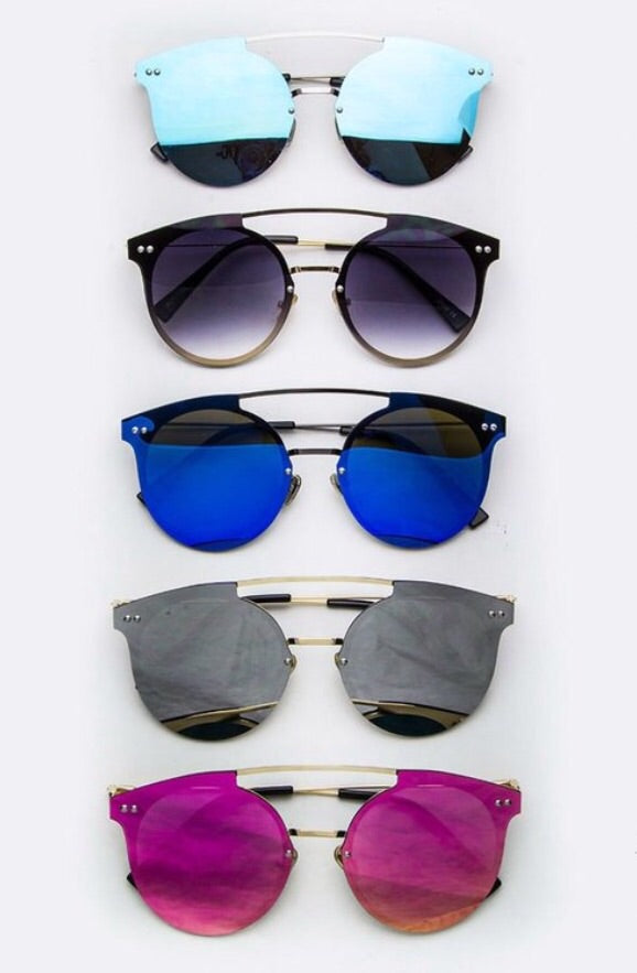 Mirror Chic Sunglasses