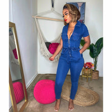 Obsessed With Denim Jumpsuit