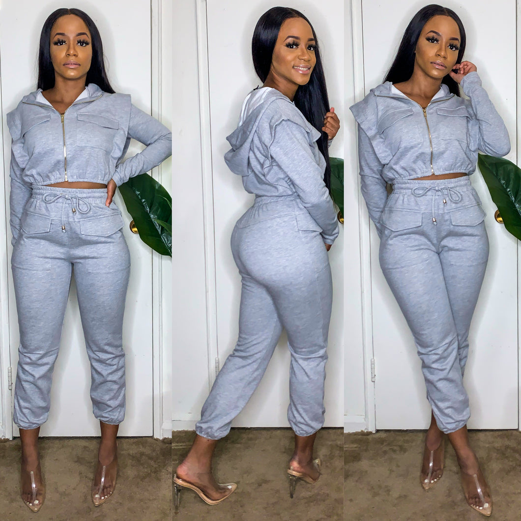 The Savvy Sweatsuit Set