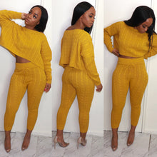 Just Chill Knit Pants Set