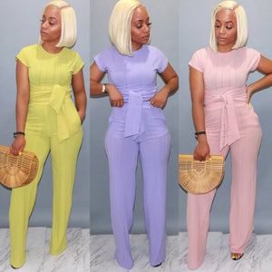 Pretty in Pastel Pants Set