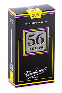 Vandoren 56 Rue Lepic Box of 10 Bb Clarinet Reeds