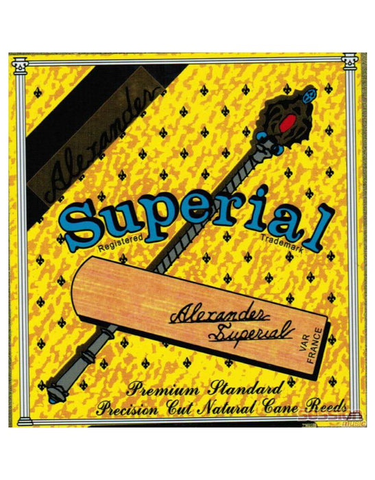Alexander Original Superial Alto Sax Reeds Box of 5