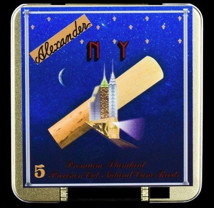 Alexander Superial New York Model Alto Sax Reeds Box of 5