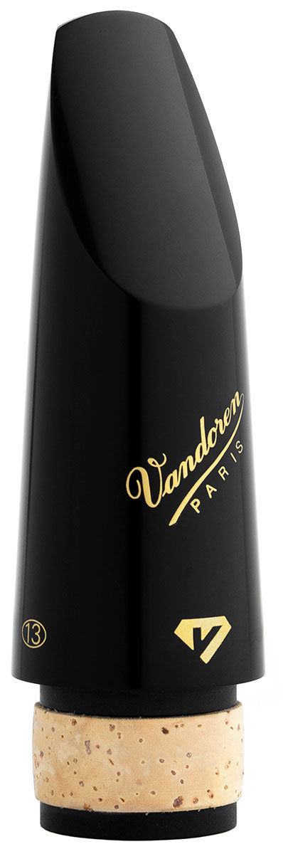 Vandoren Black Diamond Ebonite 13 Series Bb Clarinet Mouthpiece