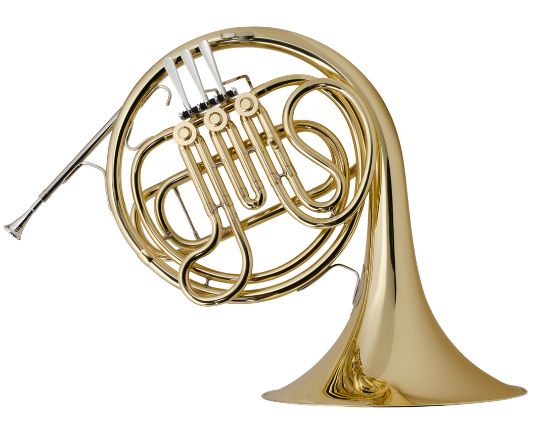 C.G. Conn Student	Model 14D Single French Horn