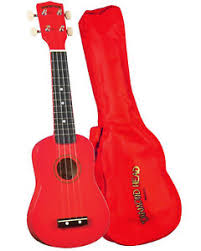 Diamond Head Ukulele Red