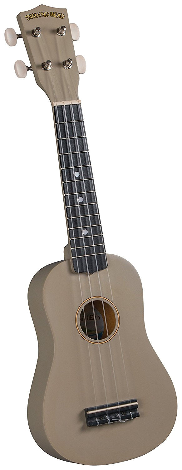 Diamond Head Ukulele Satin Light Brown