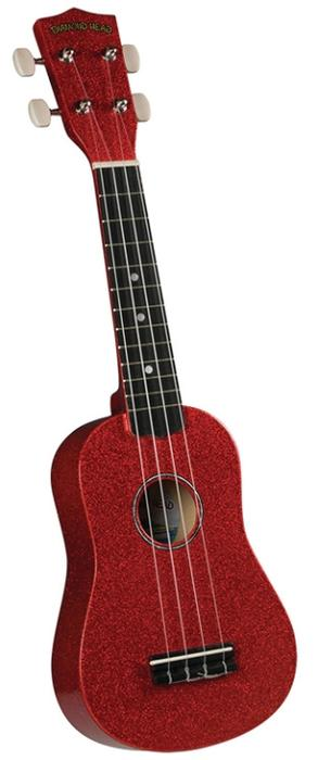 Diamond Head Ukulele Hot Rod Series Candy Apple Red