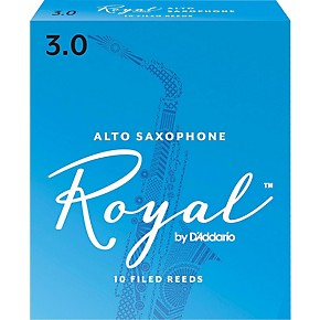 Rico Royal Alto Sax Reeds Box of 10