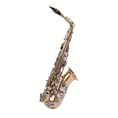 F.E. Olds Alto Sax Student Model Nickel Plated Keys