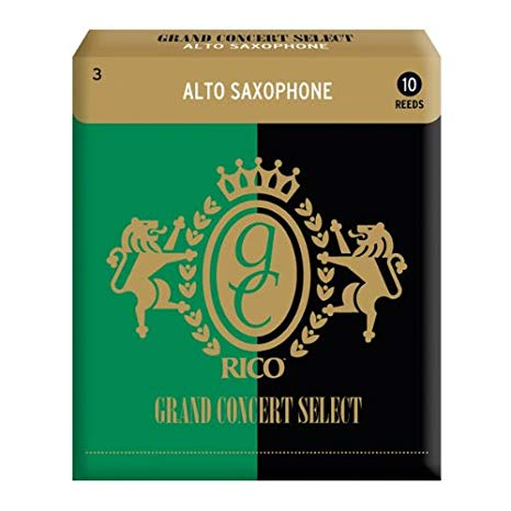Rico Grand Concert Select Alto Sax Reeds Box of 10