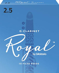 Rico Royal Eb Clarinet Reeds Box of 10