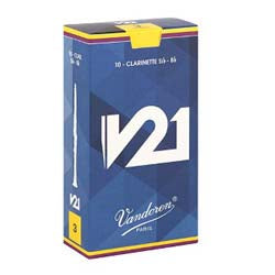 Vandoren v 21 Box of 10 Eb Clarinet Reeds