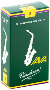 Vandoren JAVA Box of 10 Alto Saxophone Reeds
