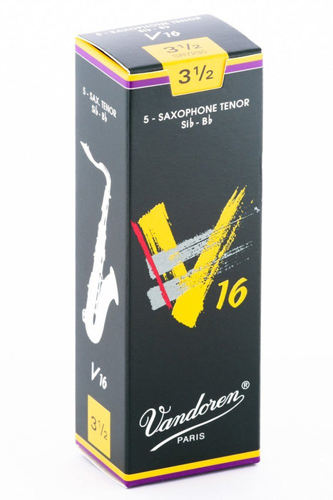 Vandoren v16 Box of 5 Tenor Saxophone Reeds