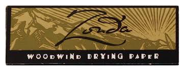 Zonda Drying Papers Pack of 5