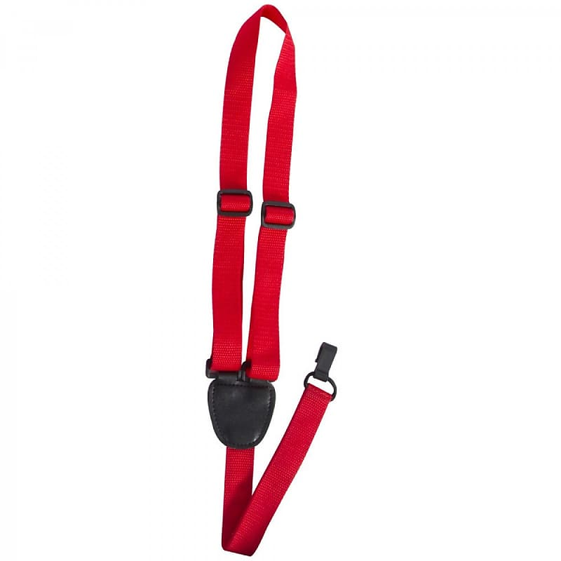 On Stage Ukulele Strap Red