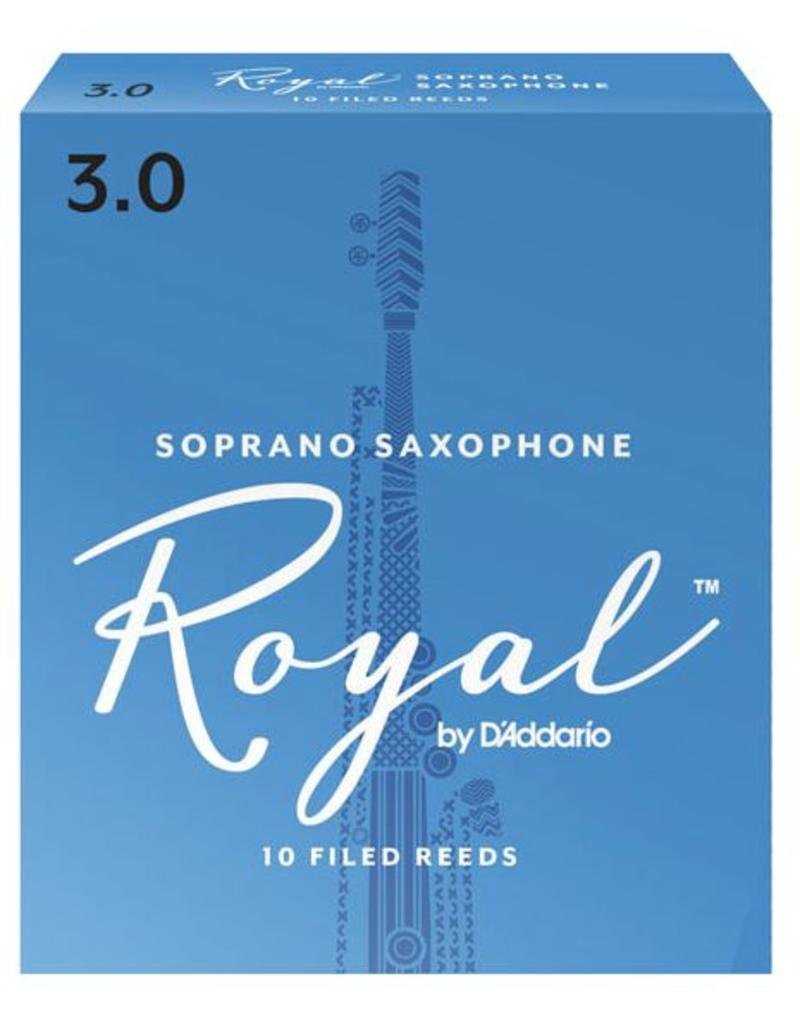 Rico Royal Soprano Sax Reeds Box of 10