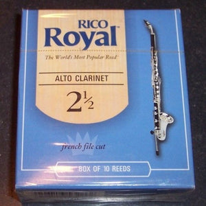 Rico Royal Alto Clarinet Reeds Box of 10