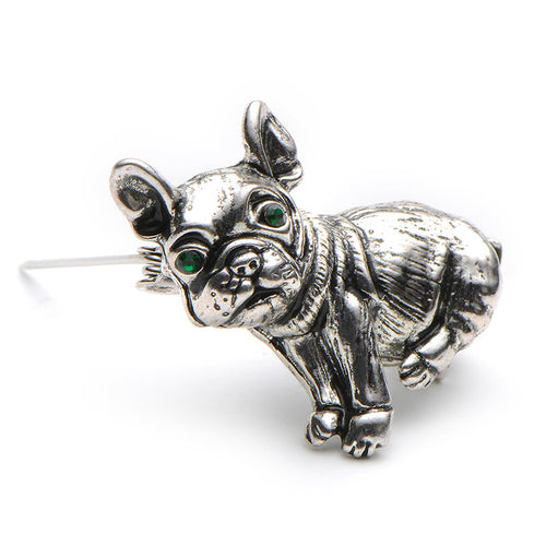 Pug Dog Brooch