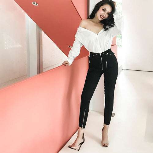 Rockabilly Pencil Pants