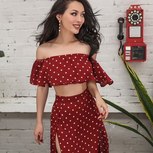 Polka Dot Retro Set