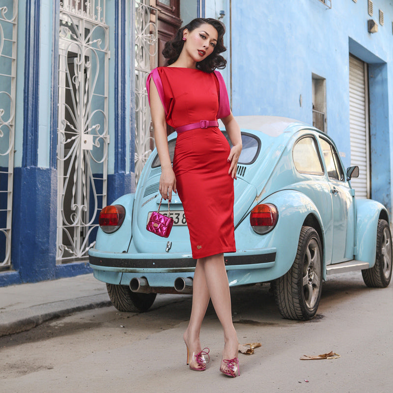 Red Signature Vintage Dress