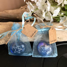 Glass Etched Stone Finished Favors