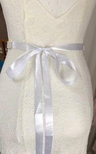 Pearled Flair Bridal Dress Belt