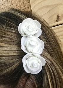 Rose Flower Hair Clip