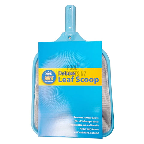 Pool Products NZ - Leaf Scoop - Deluxe Aussie Gold Cleaning Accessories