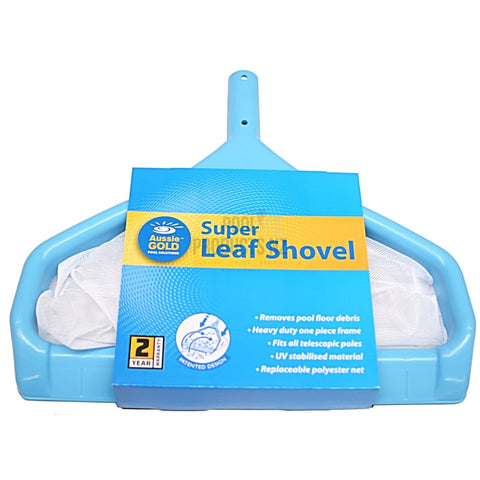 Pool Products NZ - Leaf Shovel - Super - Aussie Gold Cleaning Accessories