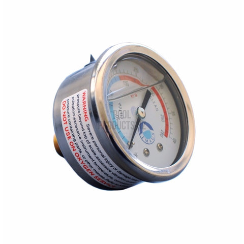 Pool Products NZ - Pressure Gauges For Pool Filters - Emaux Back Mount Parts