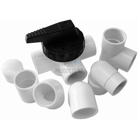 Pool Products NZ - 40mm & 50mm Pressure Pipe Fitting - Plumbing Supplies