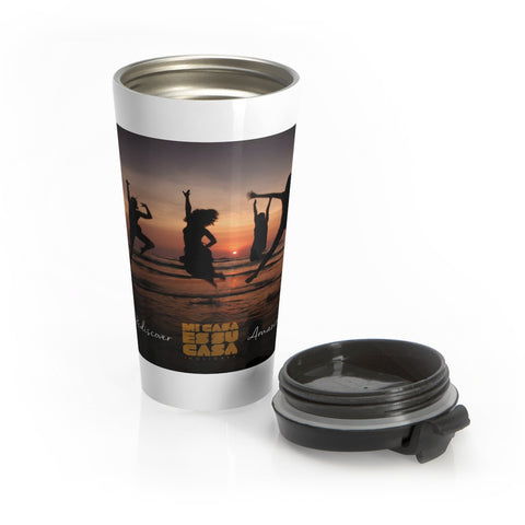 MCH Rediscover Amazing Stainless Steel Travel Mug