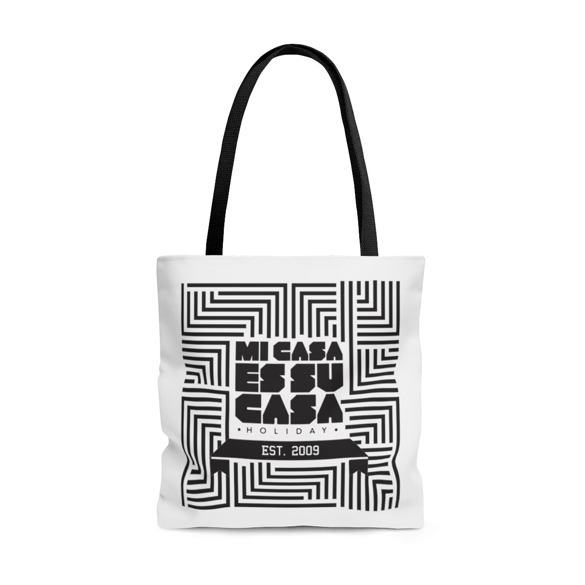 Mi Casa Holiday Est. 2009 Tote Bag