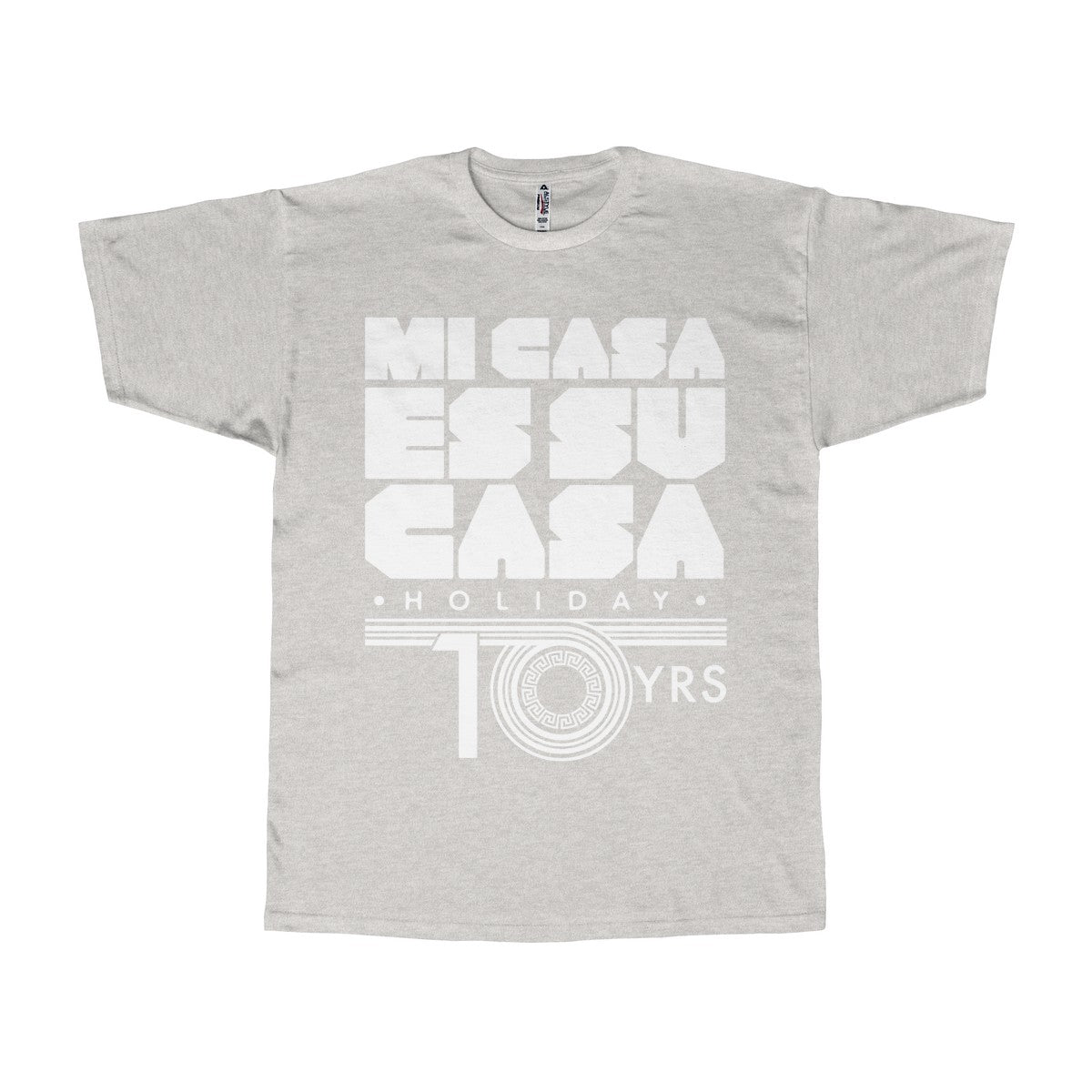 Mi Casa Holiday 10 yrs Adult Unisex Tee
