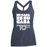 Mi Casa Holiday 10 Yrs District Made Ladies Cosmic Twist Back Tank